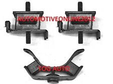 TOG AE86 LEVIN TRUENO 4AGE 4AC RUBBER ENGINE MOUNT SET L&R INC GEARBOX MOUNT