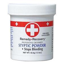 Remedy+Recovery 1.5 oz Styptic Powder Fast Quick Stop Dog Cat Bird Nail Bleeding