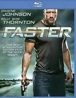 FASTER Dwayne Johnson The Rock  -- BLU-RAY NEW -- I SHIP BOXED