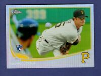 2013 TOPPS CHROME GERRIT COLE RC REFRACTOR #210 PIRATES