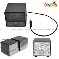 External S SWR/Power meter for Yaesu FT857/FT897 White/Black Metal Case Cover