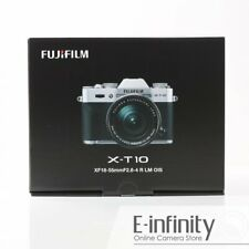 NEW Fujifilm X-T10 Mirrorless Digital Camera with 18-55mm Lens (Silver)