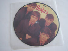 SP 45 TOURS VINYLE , THE BEATLES , LOVE ME DO , PICTURE DISC . EX . ANGLETERRE