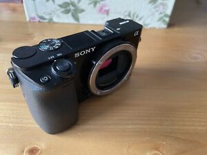 Sony Alpha A6000 24.3MP Digital Camera - Black (Body Only) Low Shutter Count.
