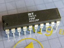5x IDT74FCT299P fast CMOS 8bit universal shift register, IDT