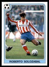 Panini Futbol 92-93 (España) Roberto Solozabal no. 92
