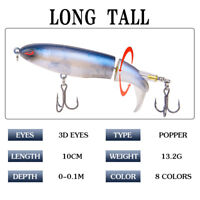 Hard Jigging Lead Fish 13g -10cm Metal Topwater Fishing Lure 8 Color with hooks