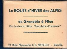 Photographie Photo - La route d'hiver des Alpes Grenoble à Nice 20 Photos -