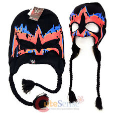 WWE Ultimate Warrior Face paint Laplander Beanie Hat with Eye Holes Costume Hat