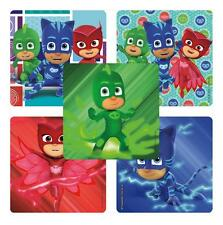 """12 PJ Masks Stickers, 2.5"""" x 2.5"""" each (Licensed), Party Favors"""
