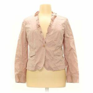 Talbots Women's Blazer size 14,  pink,  cotton, spandex,  good condition