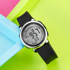 OHSEN Children Boys Black Date Water Proof Sport Digital Quartz Wrist Watch Gift