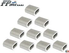 Manchon aluminium anodisé Pour Cable 1mm ( Lot de 10 )