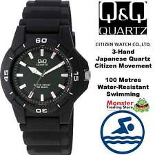 AUSSIE SELLER GENTS DIVERS STYLE WATCH CITIZEN MADE VQ84J005 100-METRES WARRANTY