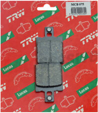 Aprilia 350 Tuareg Wind 87-88 TRW Rear Motorcycle Brake Pads Lucas Pair MCB75