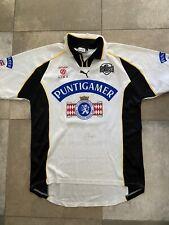 Maillot Football Sturm Graz Porté Worn Didier Angibeaud Puma Vintage XL