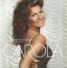 "Swedens Eurovision Artist CAROLA 2 CD ALBUM ""Guld,platina och passion"" 33 tracks"