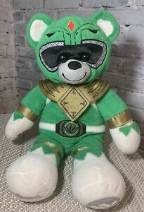 Build-A-Bear BAB Mighty Morphin Power Rangers Green Ranger Plush 2018 Retired