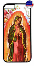 Lady Guadalupe Virgin Rubber Case Cover For iPhone 11 Pro Max Xs XR 8 Plus 7