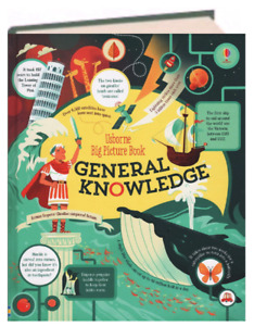 Usborne Big Picture Books: General Knowledge (Hardcover) FREE shipping $35