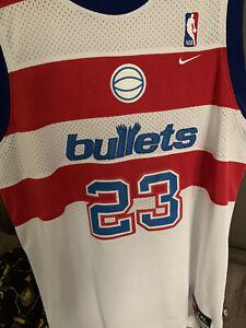 Authentic Michael Jordan Washington Bullets NBA  Jersey 2XL Nike Wizards
