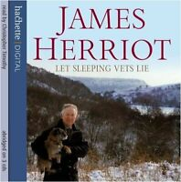 Let Sleeping Vets Lie by Herriot, James CD-Audio Book The Fast Free Shipping
