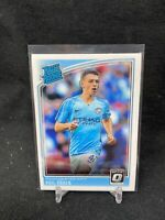 2018 Phil Foden Donruss Optic Rated Rookie Card #179 Manchester City RC T13