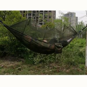 Camping Outdoor Hammock With Mosquito Net Sleeping Swing Parachute   !! !! !!