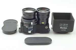 [Exc+4 w/ Metal Hood]Mamiya 180mm f4.5 Sekor Super TLR Lens C330 C220 from JAPAN