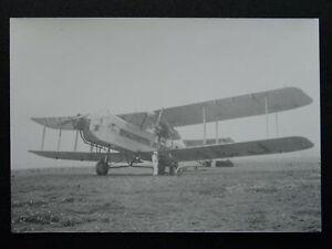 BLACKPOOL Stanley Park Aerodrome ARGOSY BIPLANE of 1936 Real Photographic Print