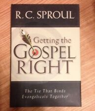 R C Sproul - Getting The Gospel Right (1999) - Used - Trade Cloth (Hardcove