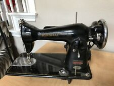 Vintage Burnelli Precision Super Deluxe Sewing Machine.Antique M/60/3631 Restore