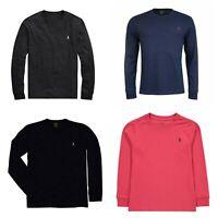 Polo Ralph Lauren Men's T-Shirt S M L 2XLClassic Fit Long Sleeve Tee, New $45.00