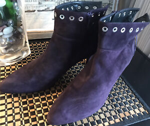 STUART WEITSMAN Boots Shoes Suede  NEW  Made Italy 40,5 US(9,5/10)