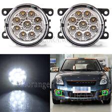 LH+RH LED Fog Light Lamp For Mitsubishi Lancer Grandis Challenger 380 I-Miev ASX