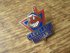 1989 CLEVELAND INDIANS ENAMEL LAPEL PIN BADGE; USA BASEBALL TEAM.