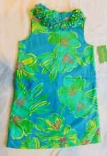 New Lilly Pulitzer Rosett Floral Shift dress Size 7 Collectible