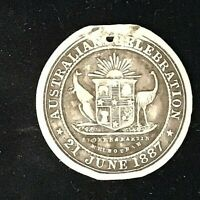 1887 JUBILEE OF 'QUEEN VICTORIA' SILVER MEDAL
