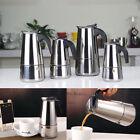 100ML 300ML Italian 2 6 Cups Stainless Steel Expresso Coffee Maker MOKA POT AU