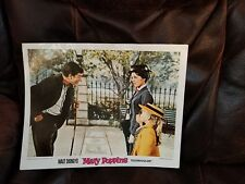 Walt Disney MARY POPPINS  Poster Picture Technicolor  14 x 11