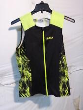 Louis Garneau Pro Carbon Comfort Triathlon Top Black/Bright Yellow Men's Large