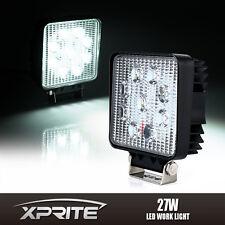 "Xprite 4"" 27W Square Cube FLOOD LED Offroad Work Light For Truck ATV UTV Jeep"