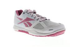 Reebok Crossfit Nano 2.0 Womens Gray Low Top Athletic Cross Training Shoes 5.5