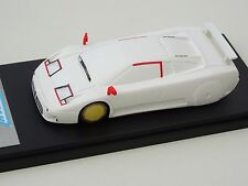 ALEZAN MODELS . 1/43 . BUGATTI EB 110 . 2ème VERSION . WIND TUNNEL . 1990 .