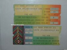 2 THE WHO / CLASH 1982 Concert Ticket Stubs SHEA STADIUM Joe Strummer MEGA RARE
