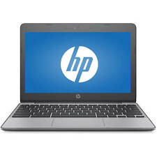 "HP 11-V012NR 11.6"" Laptop Intel Celeron N3060 1.6GHz 4GB 16GB Chrome OS"