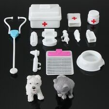 14Pcs Mini Medical Equipment Toys For Barbie Girls Doll Accessories
