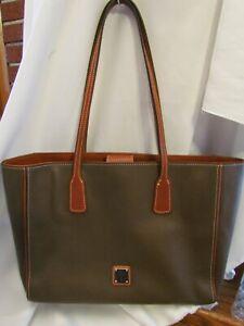 Dooney & Bourke Pebble Leather Ashton Tote Handbag MUSHROOM $268