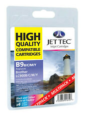 12 Jet Tec Ink Cartridges LC-47 LC47 LC900 for Brother MFC-425 +Free Photo Paper