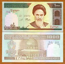 Iran, 1000 Rials, P-143, ND (1992-), UNC > Khomeini